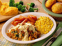 Broccoli Cheddar Chicken at Cracker Barrel Old Country Store