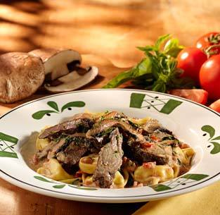 Braised Beef & Tortelloni at Isaac's Restaurant & Deli
