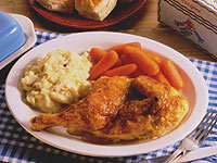 Butter Baked Chicken at Cracker Barrel Old Country Store
