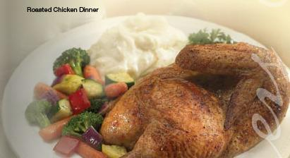ROASTED CHICKEN DINNER at Bakers Square