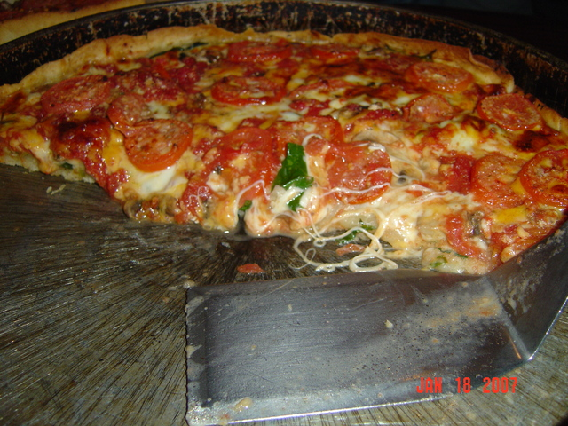 "Photo of The ""Lou"" - A great pizza at a good price!"