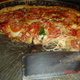 "The rest of Lou - those are tomatoes, not pepperonis - The ""Lou"" - A great pizza at a good price! at Lou Malnati's Pizzeria"