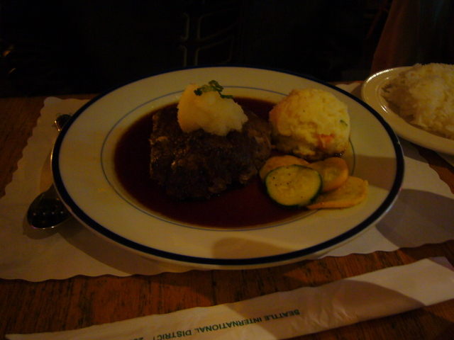 Photo of Hamburger Steak, Fort St. George style