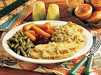 Turkey n' Dressing at Cracker Barrel Old Country Store