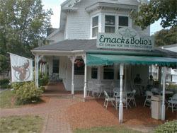Exterior at Emack & Bolio's