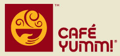 Logo at Cafe Yumm!