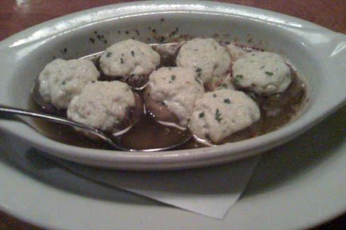 Boursin Mushrooms at Club Car Restaurant & Lounge