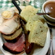 Farmer's Market Plate - four meats, two sides - Dish at Czech Plaza Restaurant