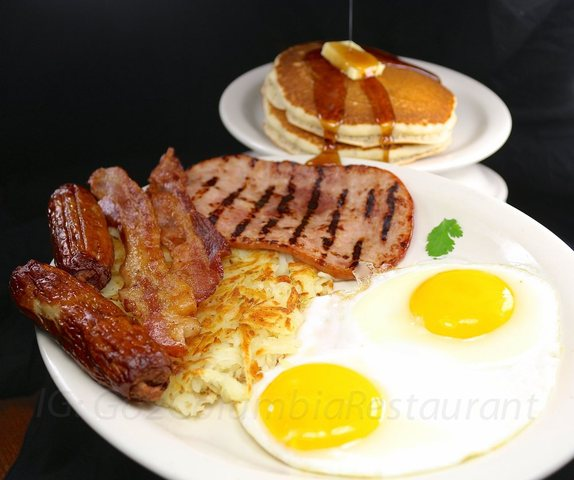 Grande Breakfast at columbia restaurant