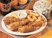 Fish Fry at Cracker Barrel Old Country Store