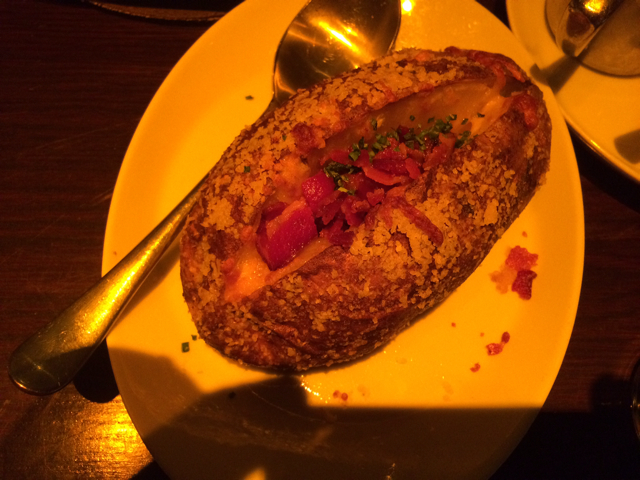 Loaded Baked Potatoe at Brand Steakhouse