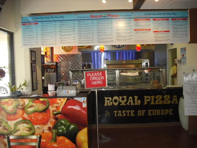 Restaurants Italian Near Me: Royal Pizza Locations Near Me + Reviews & Menu