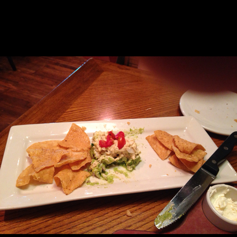 Crab Cake & Avacado at Outback Steakhouse
