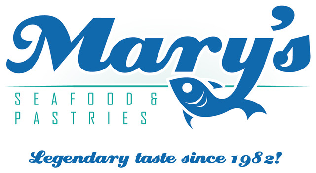 Logo at Mary's Seafood
