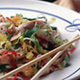 Asian Grilled Chicken Salad - Asian Grilled Chicken Salad at The Clubhouse