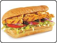 Veggie Delite at Subway