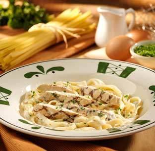 Chicken Alfredo at Isaac's Restaurant & Deli