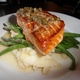 Sauteed Salmon With a Lemon-Butter-Caper Sauce - Dish at Blu Jam Cafe