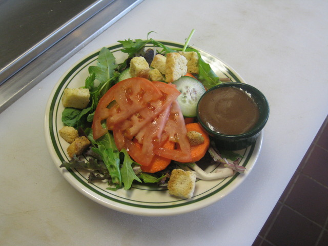 House Salad at East Coast Pizza Bar & Grill