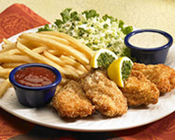 Classic Fish & Chips at Mimi's Cafe