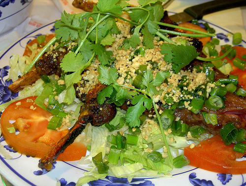 Goat Spare Ribs With Spicy Bean Curd Marinade at Phong Dinh Restaurant