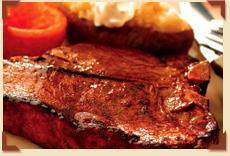 USDA Certified Angus Beef Porterhouse at Charlie Brown's Steakhouse