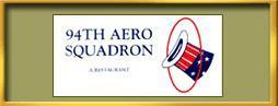 Logo at 94th Aero Squadron Restaurant
