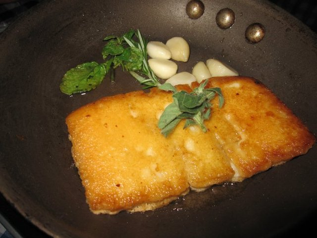 Sizziling Saganaki at eXo Greek Mediterranean Restaurant
