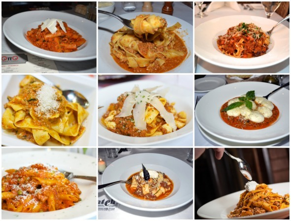 pasta at Su Di Noi Ristorante Italiano