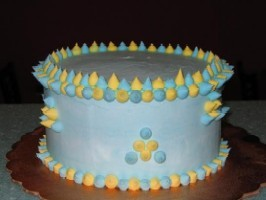 Get Your Flavor On Cake at Emack & Bolio's