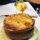 Photo Credit: www.OnMilwaukee.com - PASTICHE ONION SOUP at Pastiche Bistro (Brown Deer)