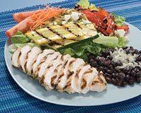 Dish at Taco del Mar