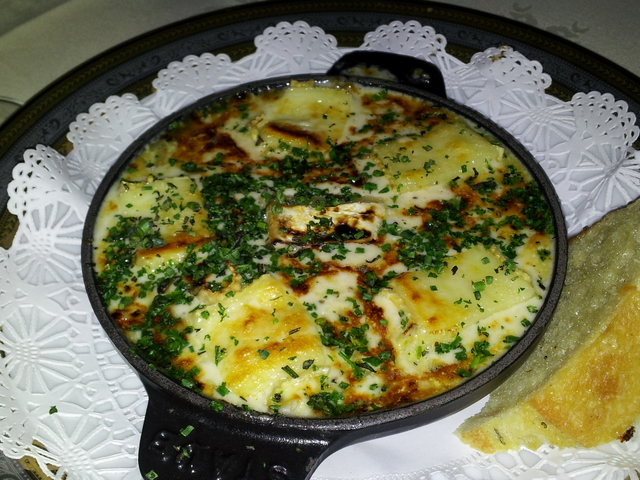 Very, very nice. the cheese sauce is a nice touch too ! - Escargot at Bohanan's