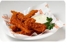 Chicken Strips at Hooters