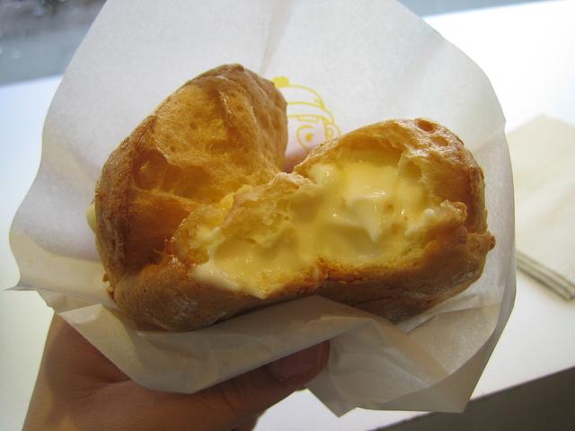 Original Vanilla Cream Puff at Beard Papa Sweets Cafe