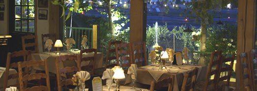 Interior at 94th Aero Squadron Restaurant