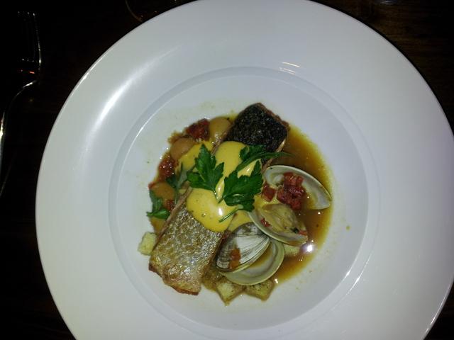 Salmon Confit at Sustenio-Interstate Hotels and Resorts, Eilan Hotel