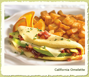 CALIFORNIA OMELETE at Coco's Restaurant & Bakery