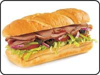 Roast Beef at Subway