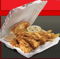 Dish at Raising Cane's Chicken Fingers