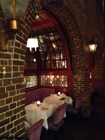 Alternate View of the Dining Nook in the Lounge - Interior at McCrady's