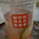That is the most ginger-y drink I've ever had - fresh ginger, ginger ale with pomegranate at Wow Bao