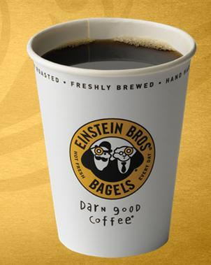Darn Good Coffee at Einstein Bros. Bagels