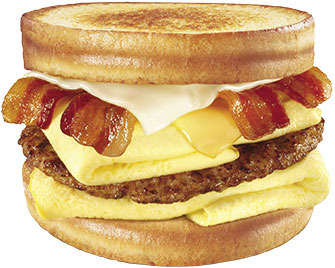 Monster Breakfast Sandwich™ at Carl's Jr.