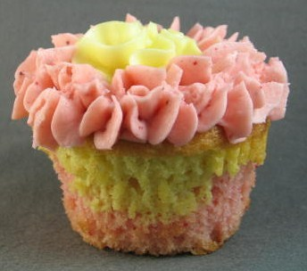 Strawberry Lemonade Cupcake at The Yellow Leaf Cupcake Company