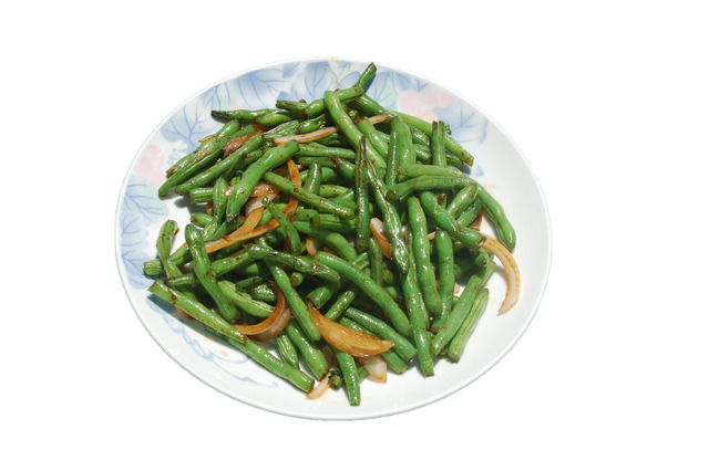 Dry Sauteed String Bean at Shanghai Restaurant
