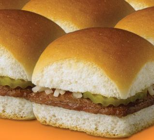 Dish at White Castle