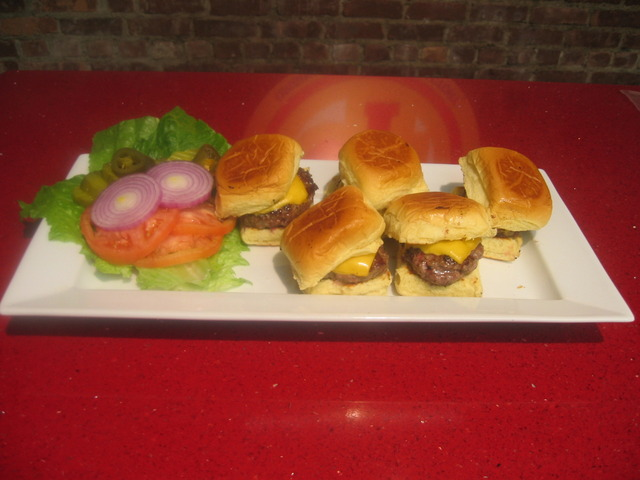 Yummie burger slider  - Burger Slider at Cheesesteak Factory AKA Todd's New York BBQ & Roadhouse (CLOSED)