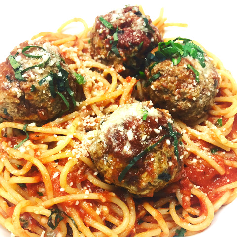 Prime Beef Meatballs at VC Gourmet