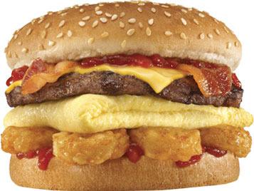 Breakfast Burger™ at Carl's Jr.